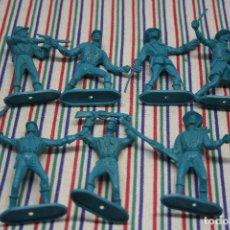 Figuras de Goma y PVC: 7 SOLDADOS NORDISTAS COMANSI. Lote 128963143