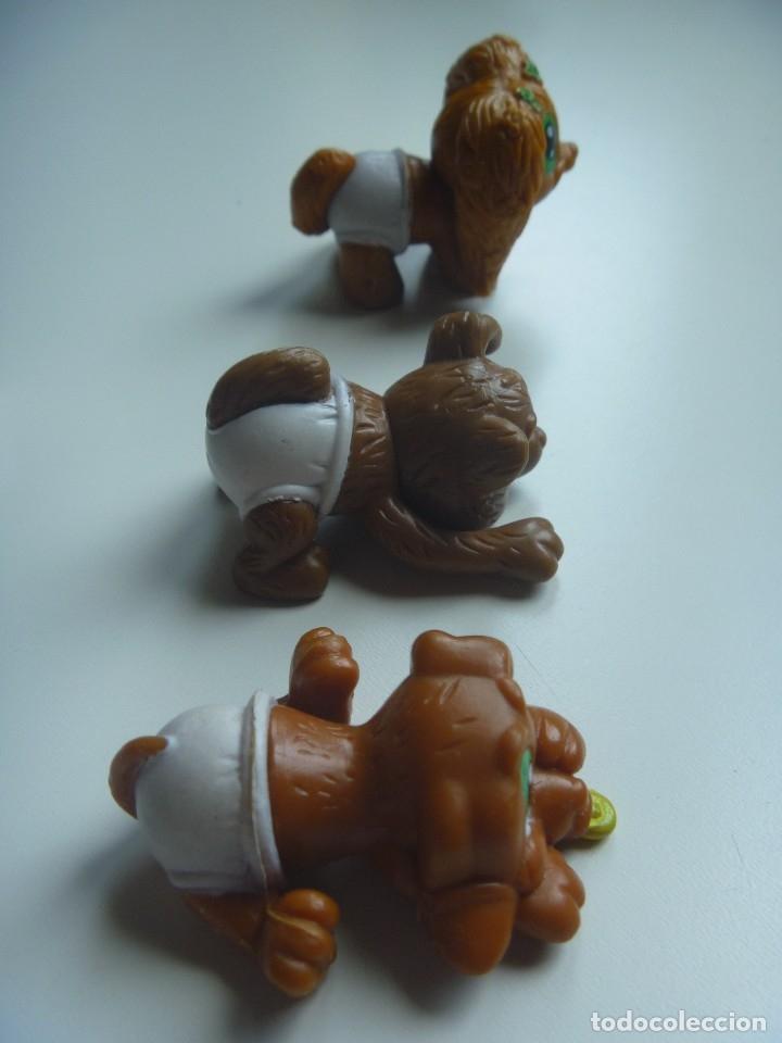 Figuras de Goma y PVC: PERROS CACHORROS MÁS FIGURA MONO CONJUNTO 5 FIGURAS TIPO LITTLE PET SHOP DIVERTIDO Y EXCLUSIVO LOTE - Foto 4 - 129138627