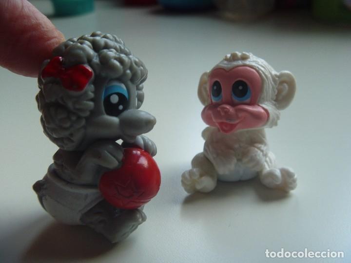 Figuras de Goma y PVC: PERROS CACHORROS MÁS FIGURA MONO CONJUNTO 5 FIGURAS TIPO LITTLE PET SHOP DIVERTIDO Y EXCLUSIVO LOTE - Foto 6 - 129138627