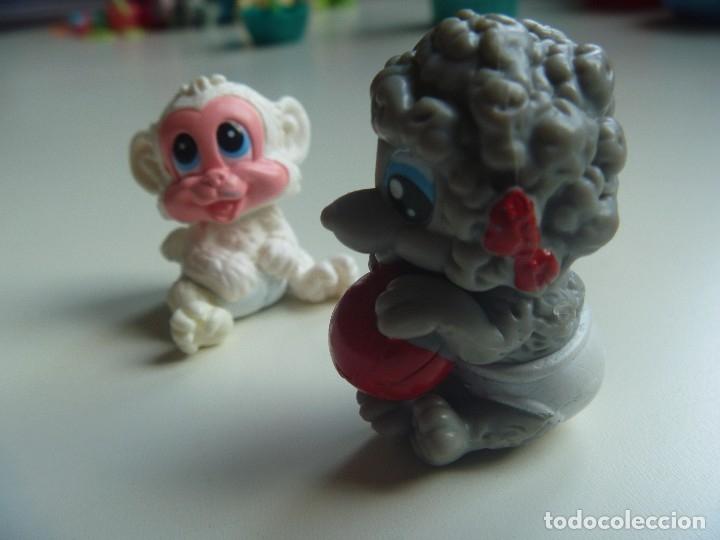 Figuras de Goma y PVC: PERROS CACHORROS MÁS FIGURA MONO CONJUNTO 5 FIGURAS TIPO LITTLE PET SHOP DIVERTIDO Y EXCLUSIVO LOTE - Foto 7 - 129138627