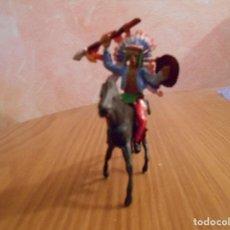 Figuras de Goma y PVC: INDIO DE REIGON.. Lote 129181371