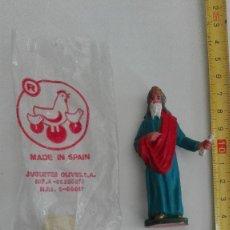 Figuras de Goma y PVC: ANTIGUA FIGURA HERODES MARCA OLIVER PARA PORTAL BELEN NACIMIENTO. Lote 129341991