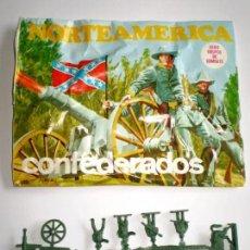 Figuras de Goma y PVC: MONTAPLEX - SOBRE VACÍO Nº 103 CONFEDERADOS + COLADA DE CONFEDERADOS. Lote 165289028