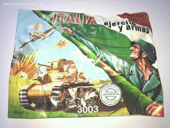 SOBRE MONTAPLEX Nº 3003 ITALIA - EJERCITO Y ARMAS - SOBRE CERRADO (Juguetes - Figuras de Goma y Pvc - Montaplex)