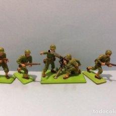 Figuras de Goma y PVC: BRITAINS DEETAIL 54MM : US ARMY CAÑON SIN RETROCESO, IIWW, REAMSA, JECSAN,PECH. Lote 129369051
