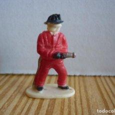 Figuras de Goma y PVC: FIGURA DE BOMBERO PARA MAQUETA O DIORAMA- 4 CM. Lote 129387675