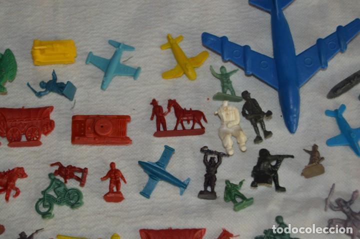 Figuras de Goma y PVC: VINTAGE - LOTAZO DE FIGURAS / FIGURITAS Y ACCESORIOS MONTAPLEX - MADE IN SPAIN - ¡Mira! - Foto 3 - 130043319