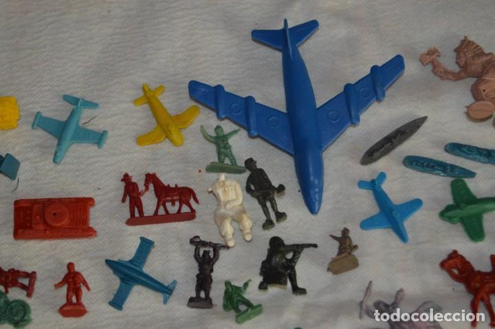 Figuras de Goma y PVC: VINTAGE - LOTAZO DE FIGURAS / FIGURITAS Y ACCESORIOS MONTAPLEX - MADE IN SPAIN - ¡Mira! - Foto 4 - 130043319
