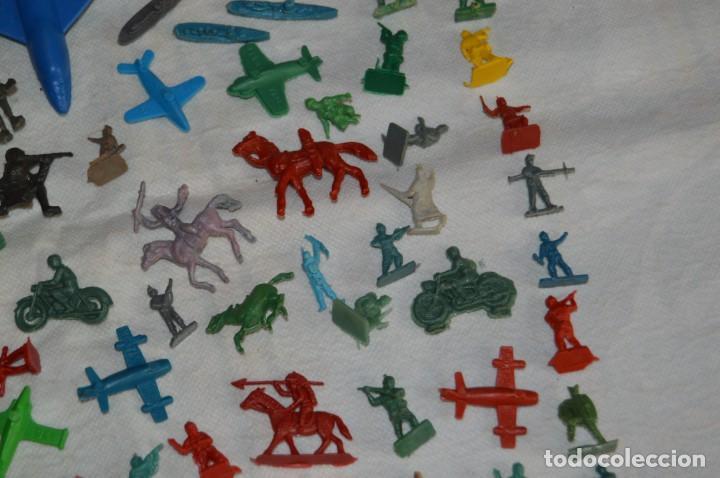Figuras de Goma y PVC: VINTAGE - LOTAZO DE FIGURAS / FIGURITAS Y ACCESORIOS MONTAPLEX - MADE IN SPAIN - ¡Mira! - Foto 7 - 130043319