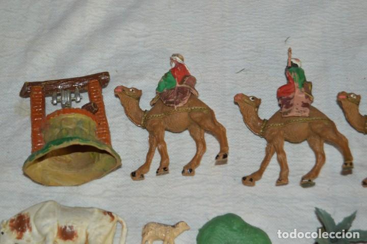 Figuras de Goma y PVC: Vintage - LOTAZO - FIGURAS Y ACCESORIOS BELEN - OLIVER, PUIG, PECH, REAMSA, GOMARSA - ENVÍO 24H - L1 - Foto 2 - 130043811