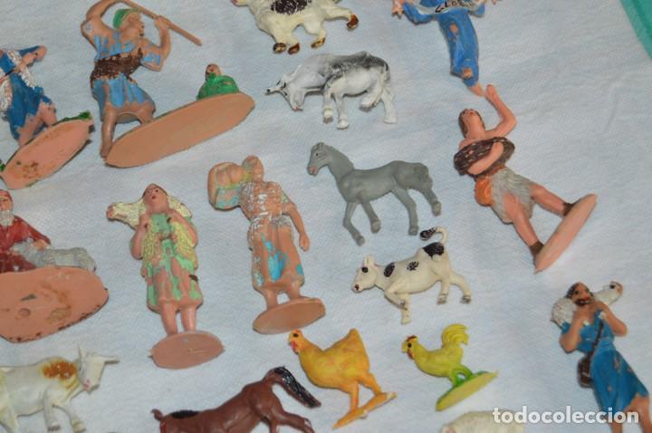 Figuras de Goma y PVC: Vintage - LOTAZO - FIGURAS Y ACCESORIOS BELEN - OLIVER, PUIG, PECH, REAMSA, GOMARSA - ENVÍO 24H - L1 - Foto 5 - 130043811