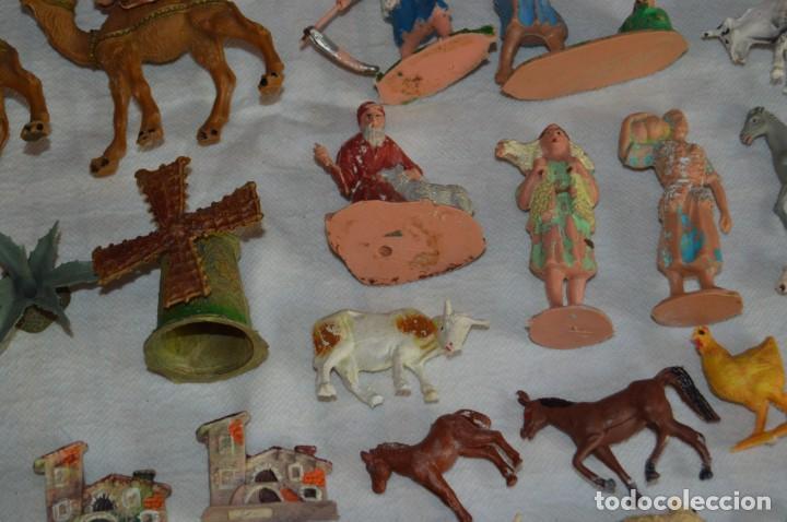 Figuras de Goma y PVC: Vintage - LOTAZO - FIGURAS Y ACCESORIOS BELEN - OLIVER, PUIG, PECH, REAMSA, GOMARSA - ENVÍO 24H - L1 - Foto 6 - 130043811