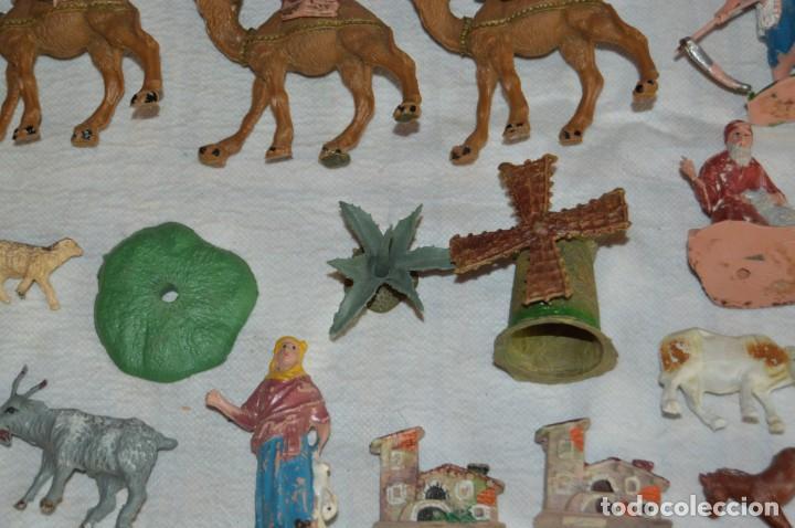 Figuras de Goma y PVC: Vintage - LOTAZO - FIGURAS Y ACCESORIOS BELEN - OLIVER, PUIG, PECH, REAMSA, GOMARSA - ENVÍO 24H - L1 - Foto 7 - 130043811