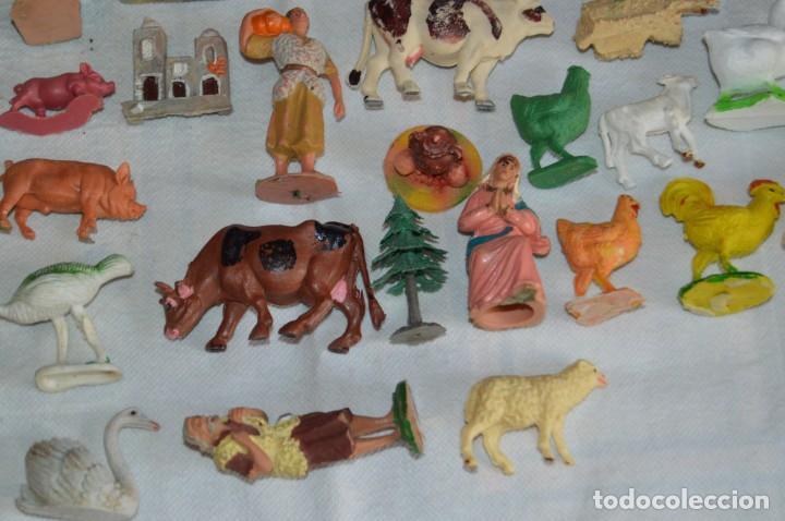 Figuras de Goma y PVC: Vintage - LOTAZO - FIGURAS Y ACCESORIOS BELEN - OLIVER, PUIG, PECH, REAMSA, GOMARSA - ENVÍO 24H - L1 - Foto 14 - 130043811