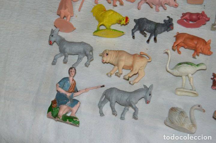 Figuras de Goma y PVC: Vintage - LOTAZO - FIGURAS Y ACCESORIOS BELEN - OLIVER, PUIG, PECH, REAMSA, GOMARSA - ENVÍO 24H - L1 - Foto 16 - 130043811