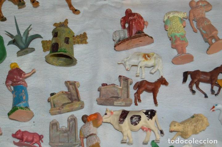 Figuras de Goma y PVC: Vintage - LOTAZO - FIGURAS Y ACCESORIOS BELEN - OLIVER, PUIG, PECH, REAMSA, GOMARSA - ENVÍO 24H - L1 - Foto 21 - 130043811