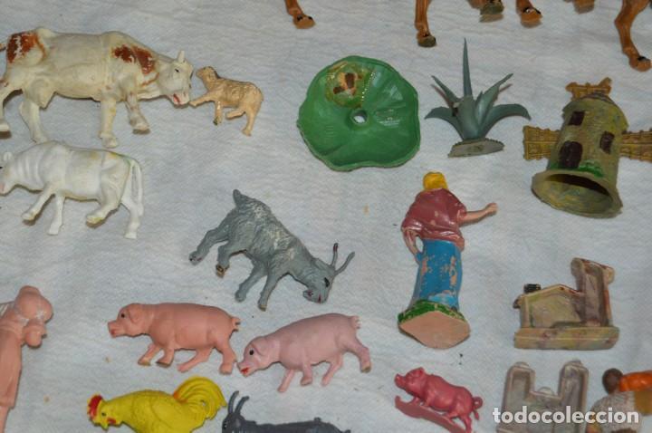 Figuras de Goma y PVC: Vintage - LOTAZO - FIGURAS Y ACCESORIOS BELEN - OLIVER, PUIG, PECH, REAMSA, GOMARSA - ENVÍO 24H - L1 - Foto 22 - 130043811