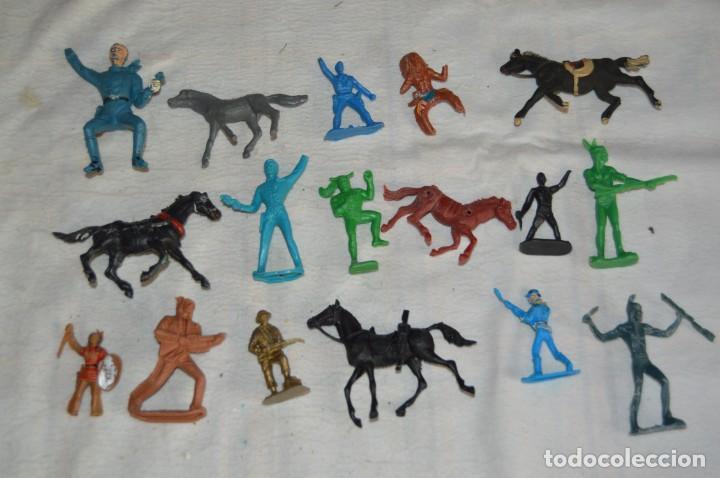 VINTAGE - LOTAZO - FIGURAS Y ACCESORIOS GOMA PVC - OLIVER, PUIG, PECH, REAMSA, GOMARSA... ENVÍO 24H (Juguetes - Figuras de Goma y Pvc - Pech)