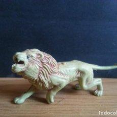Figuras de Goma y PVC: FIGURA DE GOMA LEÓN DE PECH. Lote 130129879