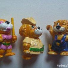 Figuras Kinder: LOTE DE 3 FIGURAS DE KINDER : LEONES. Lote 130244030