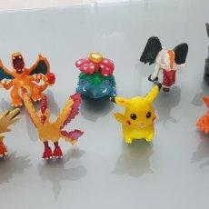 Figuras de Goma y PVC: 10X FIGURAS PVC POKEMON TOMY. Lote 130257730
