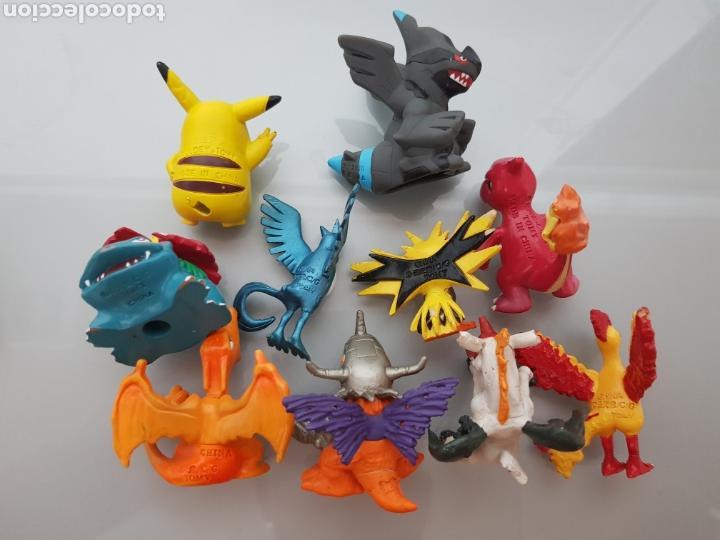Figuras de Goma y PVC: 10x FIGURAS PVC POKEMON TOMY - Foto 2 - 130257730