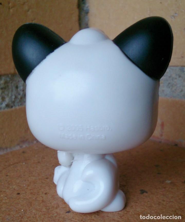 Figuras de Goma y PVC: Figura LPS Littlest Pet Shop Hasbro 2005 gato Cat Mágic Eyes Moving 493 - Foto 2 - 153823686