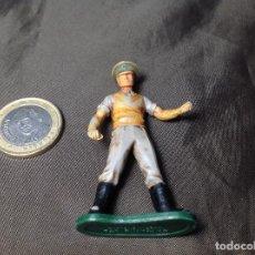 Figuras de Goma y PVC: OFICIAL INGLÉS MARCA BRITAINS INCOMPLETO. Lote 130413074