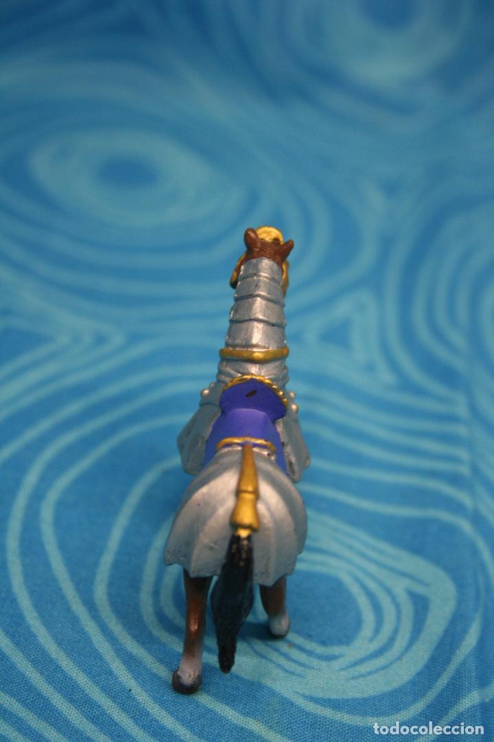 Figuras de Goma y PVC: CABALLO MEDIEVAL DE PLASTOY - Foto 5 - 130425650