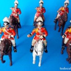 Figuras de Goma y PVC: LOTE SOLDADOS A CABALLO SOLDADOS CREO QUE REAMSA. Lote 130487594