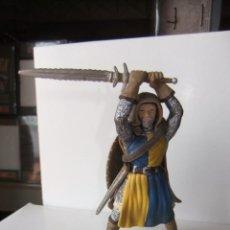 Figuras de Goma y PVC: SCHLEICH MEDIEVAL 9 CTMS. Lote 130552862
