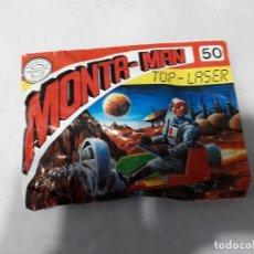 Figuras de Goma y PVC: MONTAPLEX-MONTA MAN NUMERO 50-TOP-LASER-SOBRE CERRADO. Lote 130575094