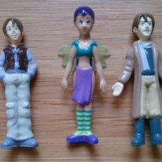 Figuras de Goma y PVC: LOTE 5 FIGURAS PVC MINIATURA DISNEY MUÑECAS WITCH W.I.T.C.H.. Lote 130750408