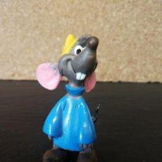 Figuras de Goma y PVC: RATÓN CENICIENTA PVC COMICS SPAIN. Lote 130829772