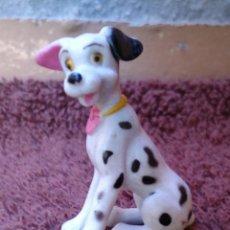 Figuras de Goma y PVC: FIGURA PVC MINIATURA PERRO DÁLMATA 3 CM SIN MARCA. Lote 130834568