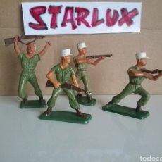 Figuras de Goma y PVC: LEGIÓN EXTRANJERA FRANCESA, STARLUX FRANCIA, SOLDADOS LEGIONARIOS 2 GUERRA MUNDIAL TAMAÑO BRITAINS. Lote 131063565