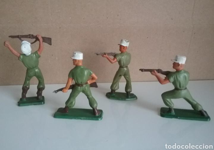 Figuras de Goma y PVC: Legión extranjera francesa, Starlux Francia, soldados legionarios 2 guerra mundial tamaño britains - Foto 2 - 131063565