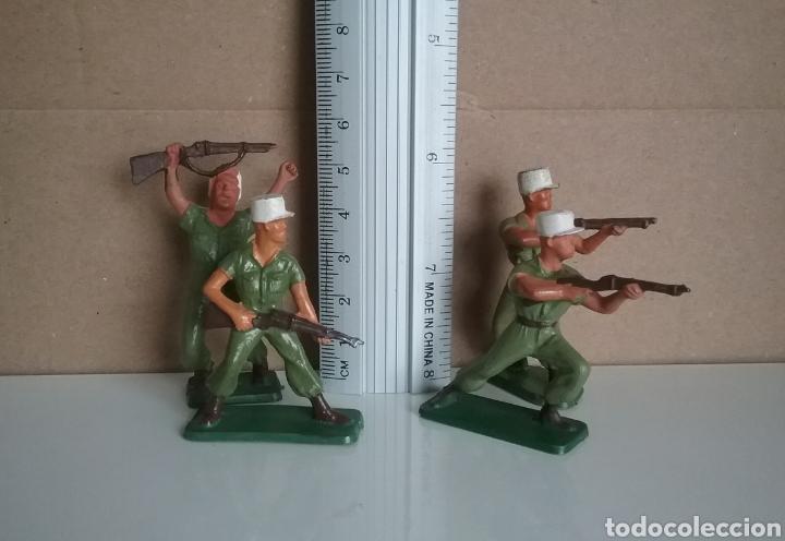 Figuras de Goma y PVC: Legión extranjera francesa, Starlux Francia, soldados legionarios 2 guerra mundial tamaño britains - Foto 4 - 131063565