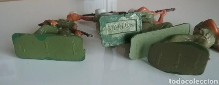 Figuras de Goma y PVC: Legión extranjera francesa, Starlux Francia, soldados legionarios 2 guerra mundial tamaño britains - Foto 5 - 131063565