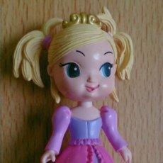 Figuras de Goma y PVC: FIGURA PRINCESA RUBIA KEYTWEENS AÑO 2008. Lote 131080748