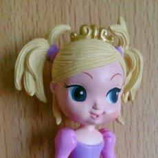 Figuras de Goma y PVC: FIGURA PRINCESA RUBIA KEYTWEENS SENTADA AÑO 2008. Lote 131080820