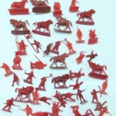 Figuras de Goma y PVC: LOTE SOLDADOS MEDIEVALES MONTAMAN MONTAPLEX. Lote 131093132