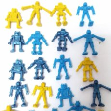 Figuras de Goma y PVC: LOTE ROBOTS MONTAMAN MONTAPLEX. Lote 131093420
