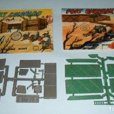Figuras de Goma y PVC: MONTAPLEX LOTE - 446 FORT COLORADO Y 447 FORT SHERIDAN . Lote 131097576