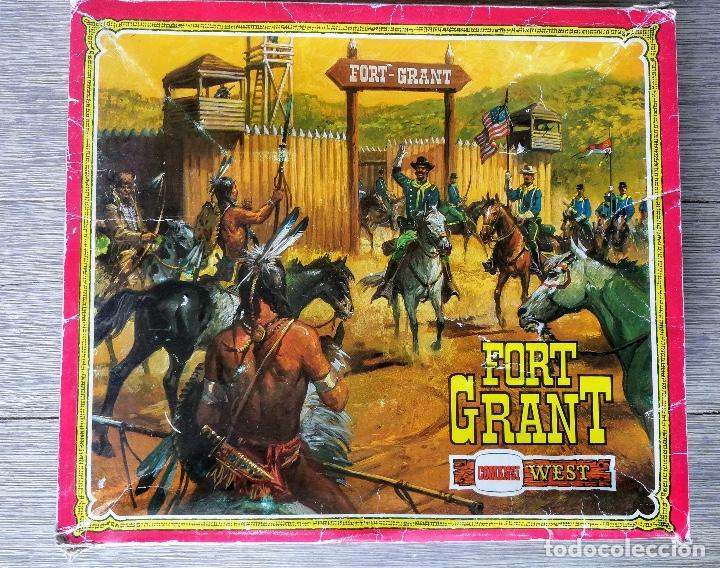 ANTIGUO FORT GRANT DE COMANSI WEST - REF 18605 - SIN FIGURAS - TAL COMOS E VE EN LAS FOTOGRFIAS - ME (Juguetes - Figuras de Goma y Pvc - Comansi y Novolinea)