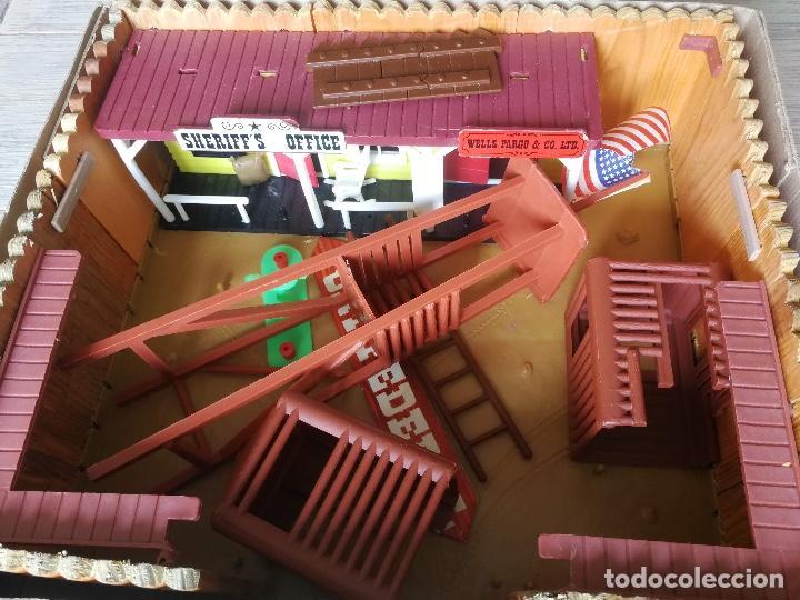 Figuras de Goma y PVC: ANTIGUO FORT GRANT DE COMANSI WEST - REF 18605 - SIN FIGURAS - TAL COMOS E VE EN LAS FOTOGRFIAS - ME - Foto 6 - 131108500