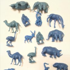 Figuras de Goma y PVC: LOTE ANIMALES MONTAMAN MONTAPLEX DUNKIN. Lote 131111520