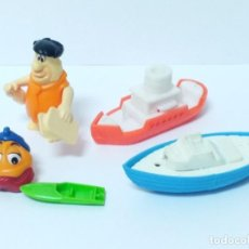 Figuras Kinder: LOTE KINDER BARCOS PICAPIEDRA. Lote 131112960