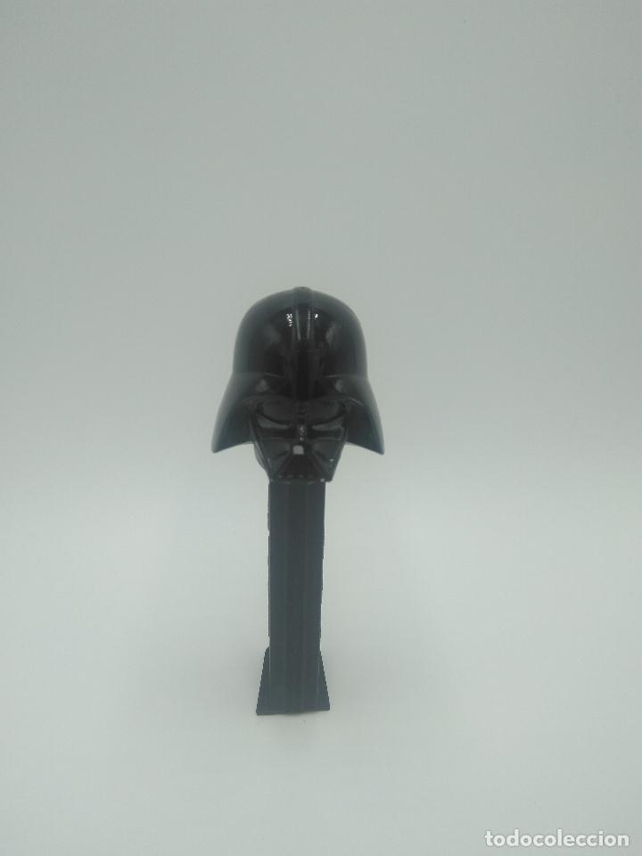 DISPENSADOR PEZ STAR WARS DARTH VADER (Juguetes - Figuras de Gomas y Pvc - Dispensador Pez)