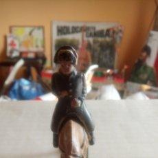 Figuras de Goma y PVC: FIGURA EN PLÁSTICO DE NAPOLEÓN A CABALLO.. Lote 131210271